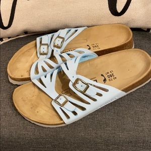 Betula Birkenstock GRACE light blue sz 9